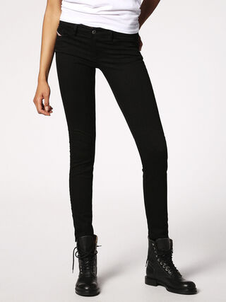 SKINZEE-LOW 0813E, Nero Denim