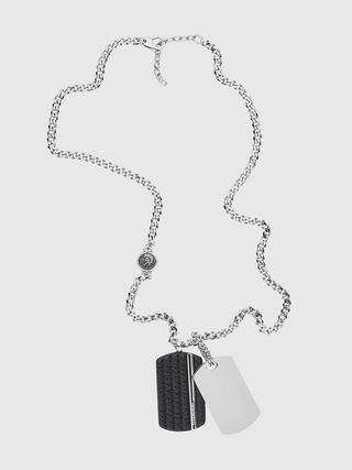 NECKLACE DX1040, Argento