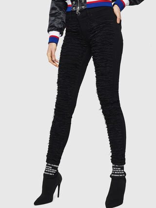 DHARY 0686M, Nero Jeans