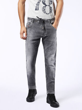 KROOLEY LONG JOGGJEANS 0855B, Denim Grigio