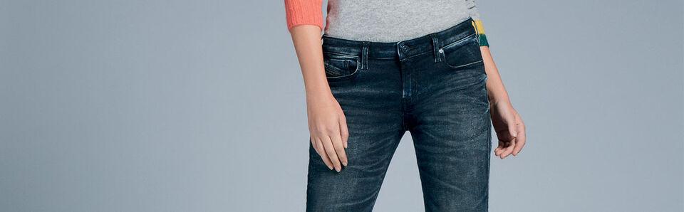 Super Skinny Jeans Donna Diesel