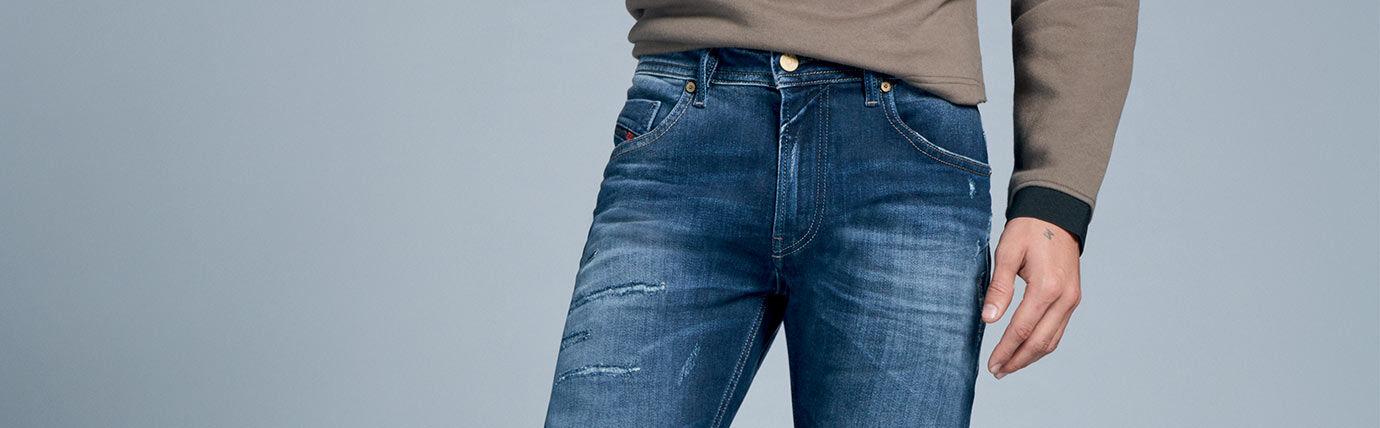 Skinny Jeans Uomo Diesel
