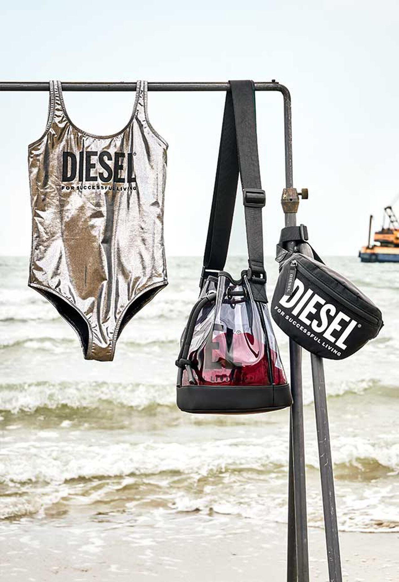 MIAM, Argento - Beachwear