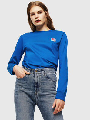 T-DIEGO-DIV-LS, Blu Brillante - T-Shirts