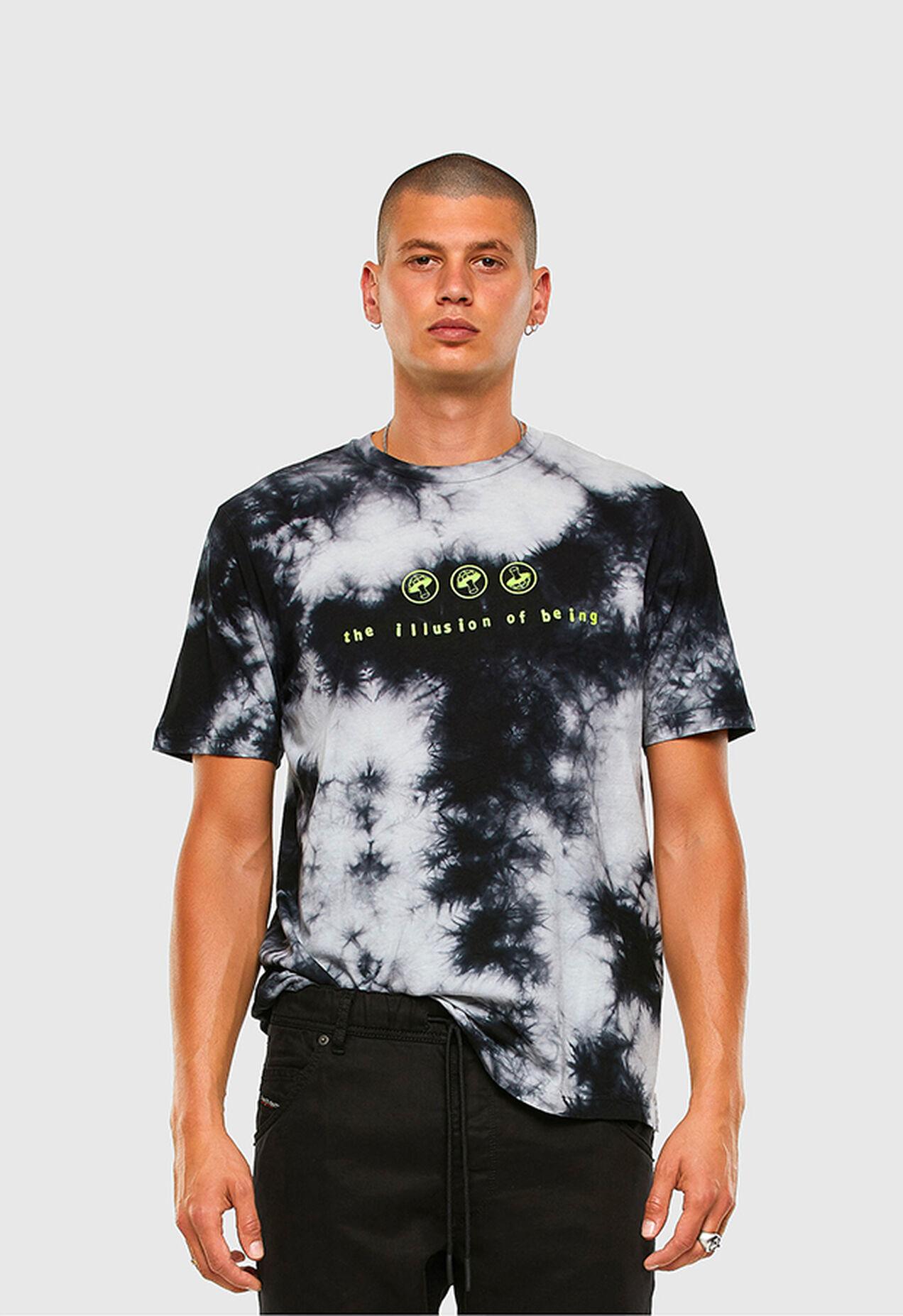 T-JUST-SLITS-X86, Rosa/Blu - T-Shirts