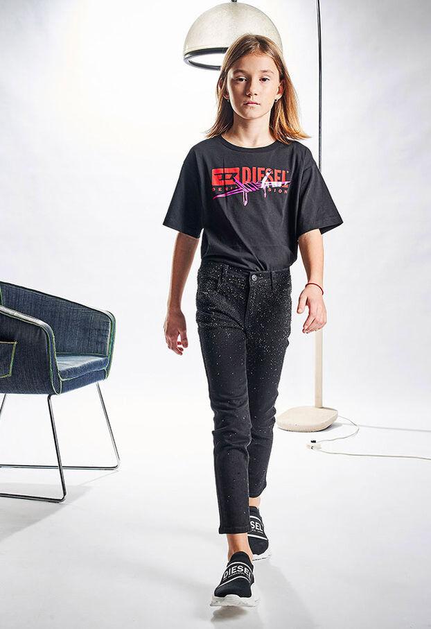 BABHILA-J, Nero/Grigio scuro - Jeans