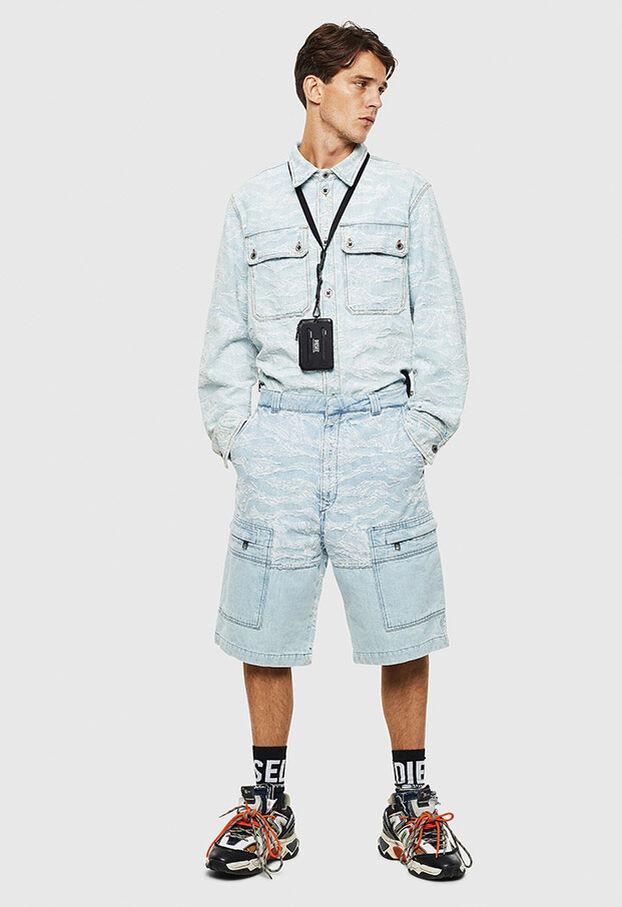 D-JESSY, Blu Chiaro - Camicie in Denim