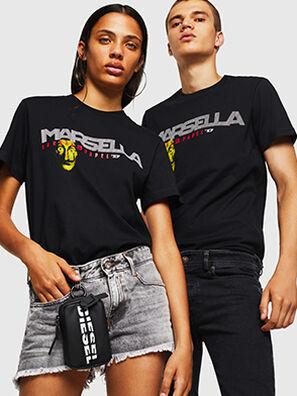 LCP-T-DIEGO-MARSELLA, Nero - T-Shirts
