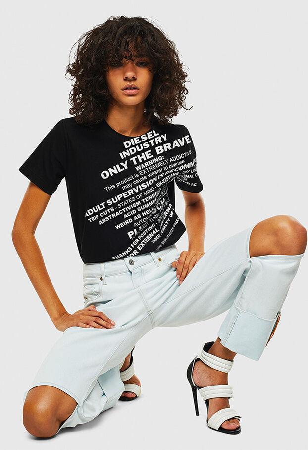 T-SILY-S1, Nero - T-Shirts