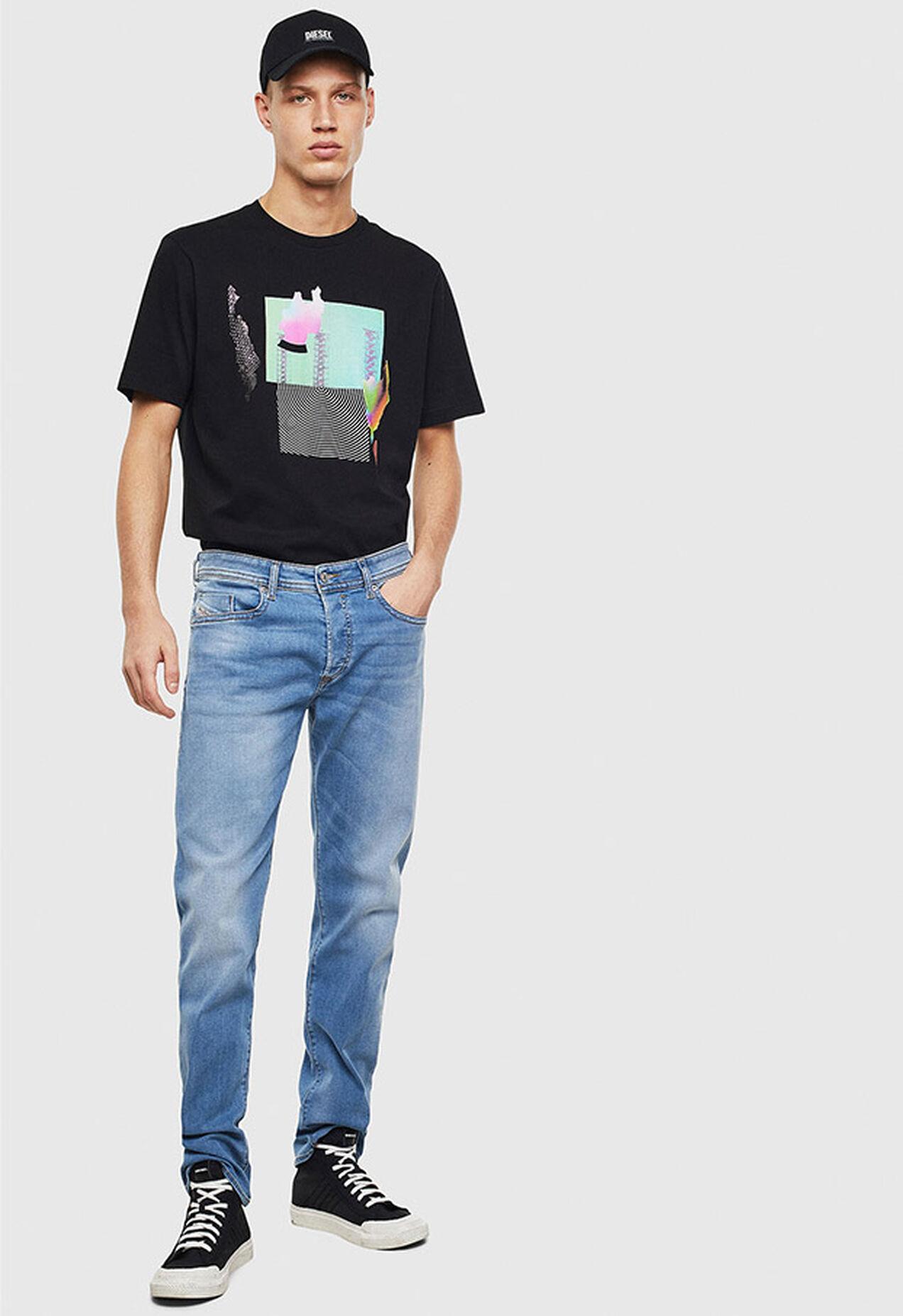 T-JUST-T25, Nero - T-Shirts