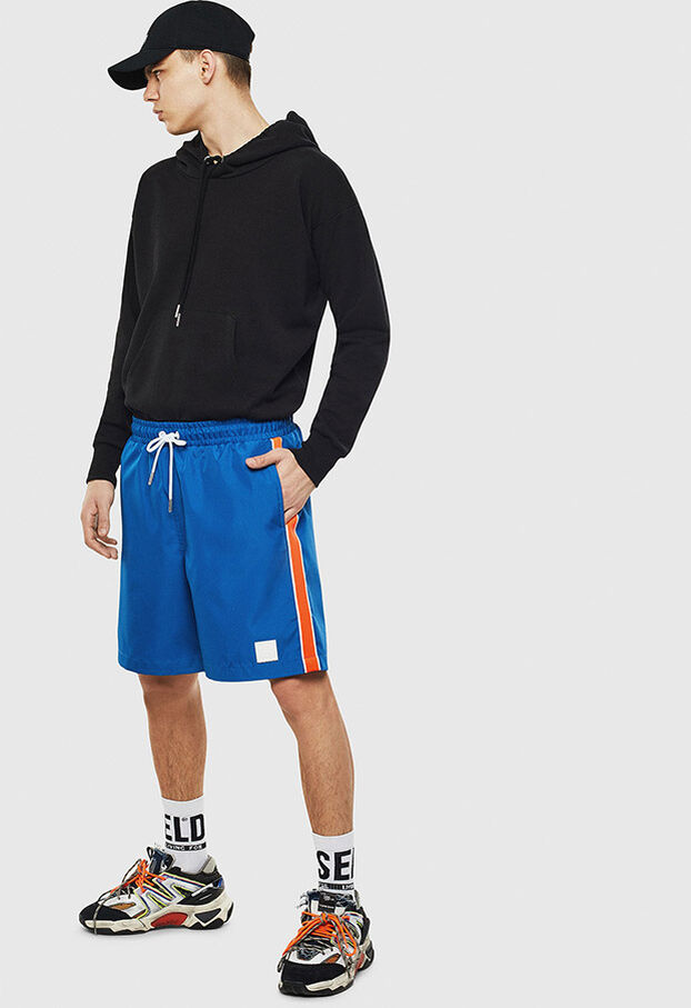 P-KEITH, Blu - Shorts