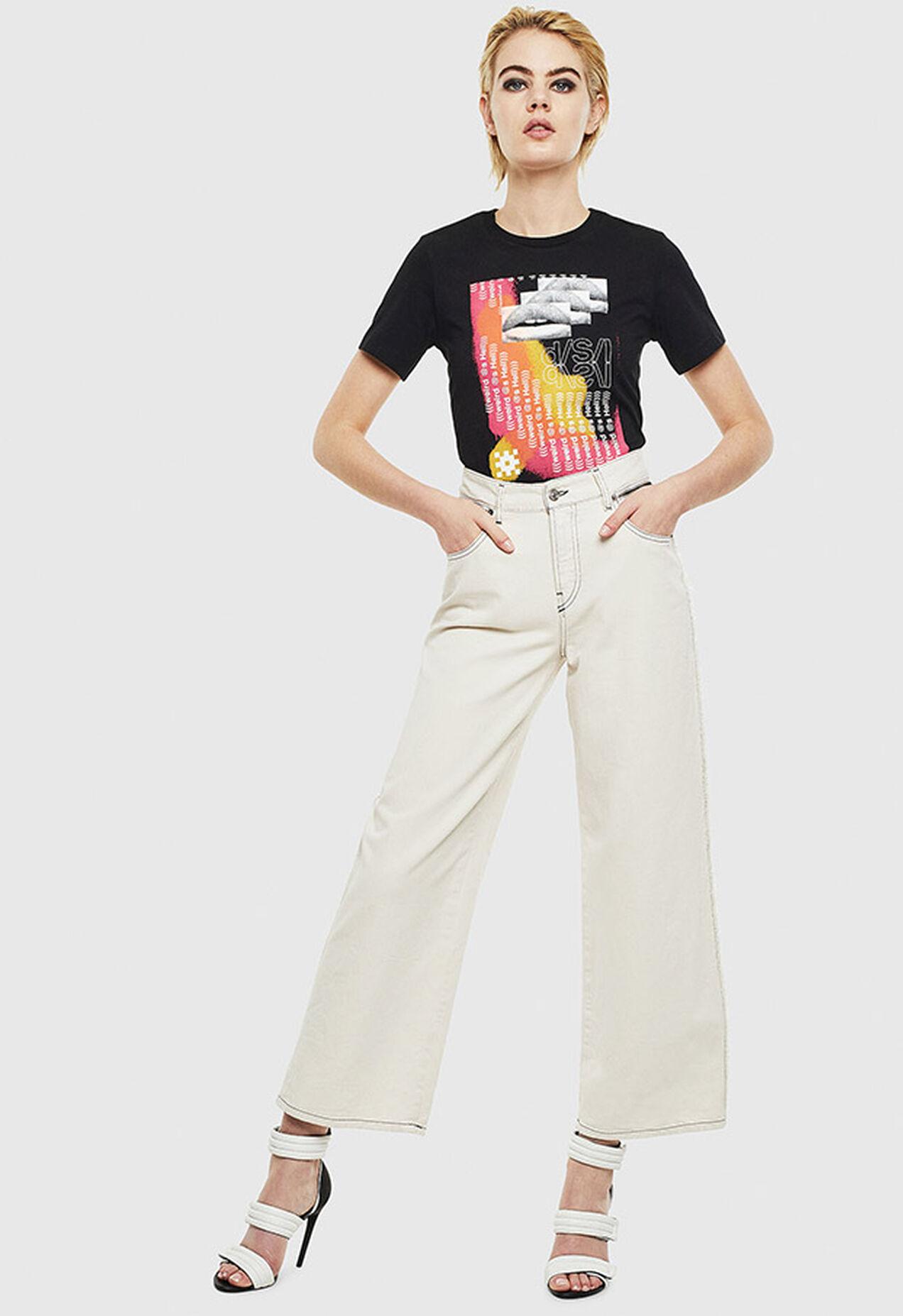 T-SILY-S5, Nero - T-Shirts