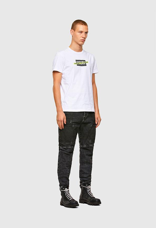 T-DIEGOS-A3, Bianco - T-Shirts