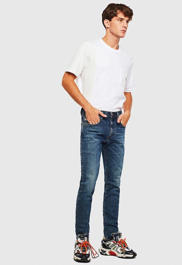D-Strukt 009AR, Blu medio - Jeans