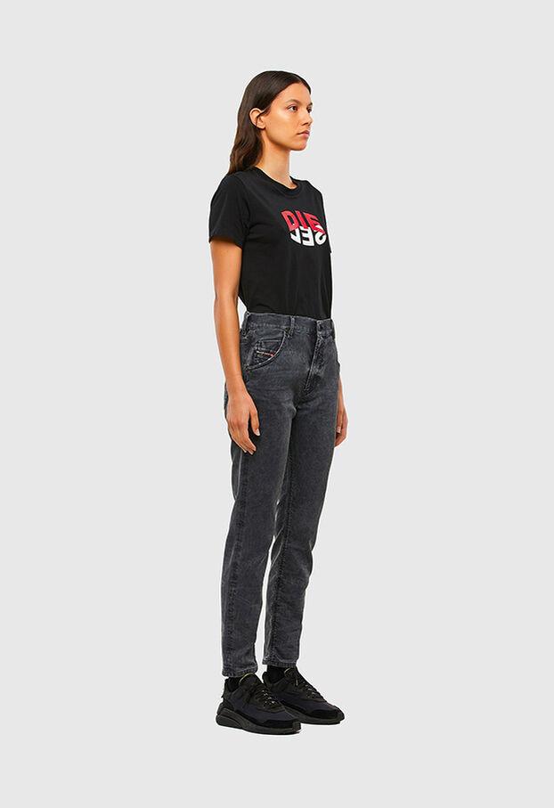 Krailey JoggJeans 069QB, Nero/Grigio scuro - Jeans