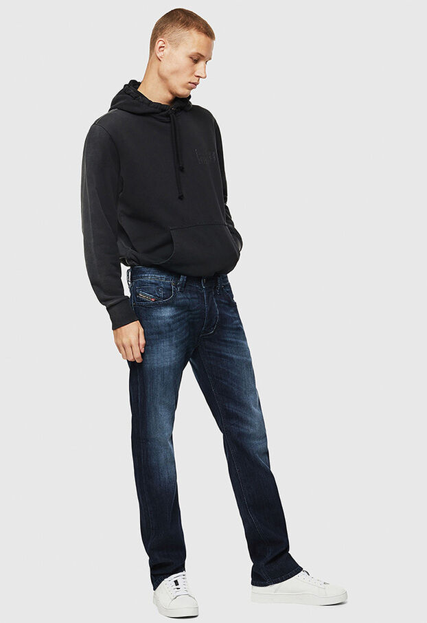 Larkee 0095W, Blu Scuro - Jeans