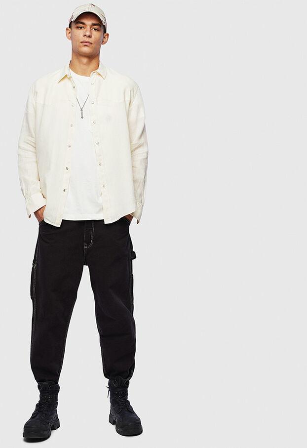 S-PLAN-B, Bianco - Camicie