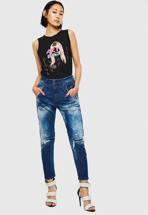 Fayza JoggJeans 0099S, Blu Scuro - Jeans