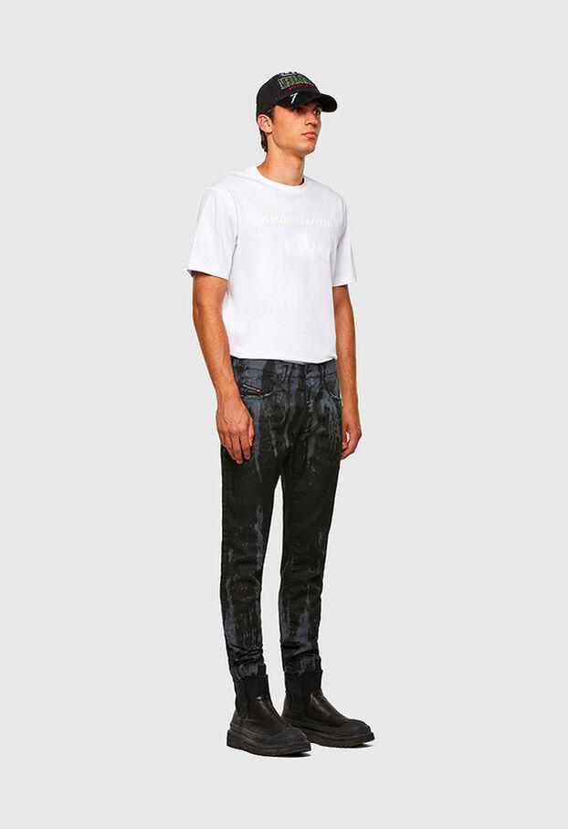 D-Strukt JoggJeans 069QI, Blu medio - Jeans