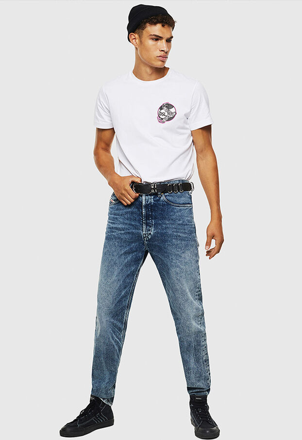 D-Macs 0097G, Blu medio - Jeans
