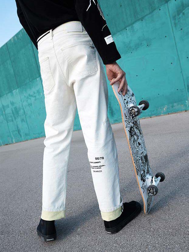 D-Macs 069MS, Bianco - Jeans