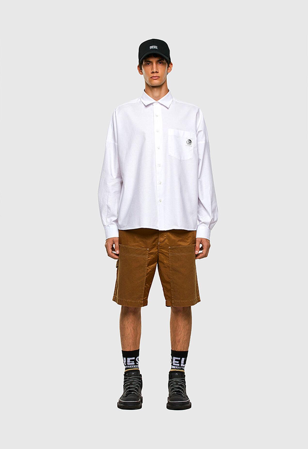 S-LOOMY-A, Bianco - Camicie