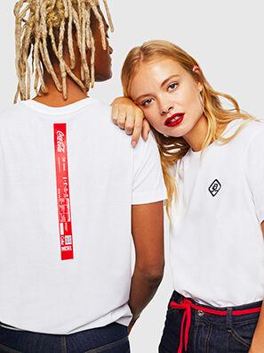 CC-T-DIEGO-COLA, Bianco - T-Shirts