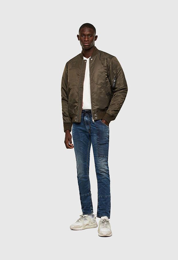 KROOLEY JoggJeans® 069TX, Blu medio - Jeans