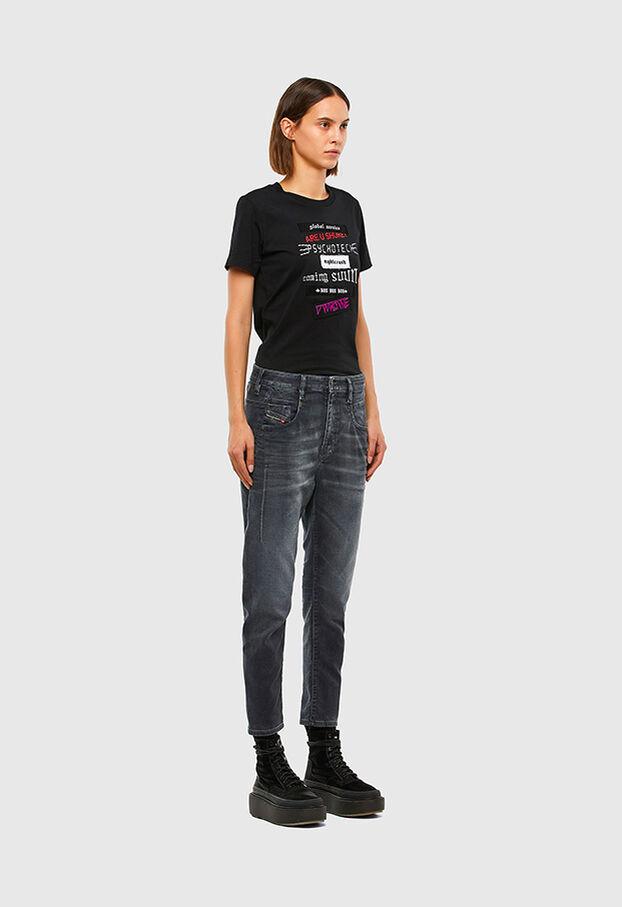Fayza JoggJeans 069QA, Nero/Grigio scuro - Jeans