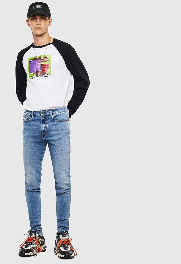 T-RODDI, Bianco/Nero - T-Shirts
