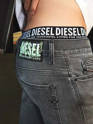 D-Amny 009GL, Nero/Grigio scuro - Jeans