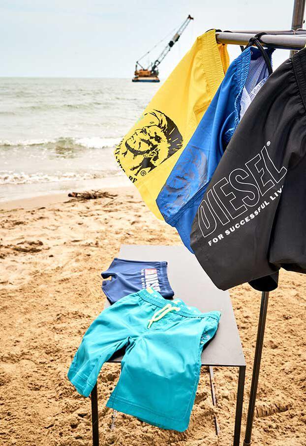 MBXPERRY, Blu - Beachwear
