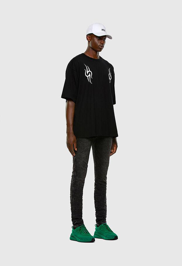 T-BALL-X3, Nero - T-Shirts