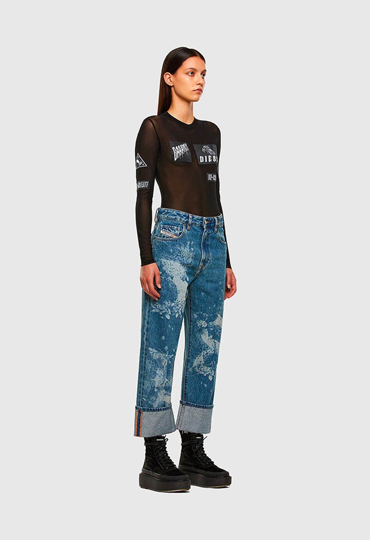 D-Reggy 0079H, Blu medio - Jeans
