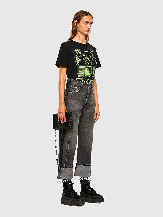 D-Reggy 009IL, Nero/Grigio scuro - Jeans
