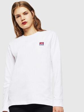 T-DIEGO-DIV-LS, Bianco - T-Shirts