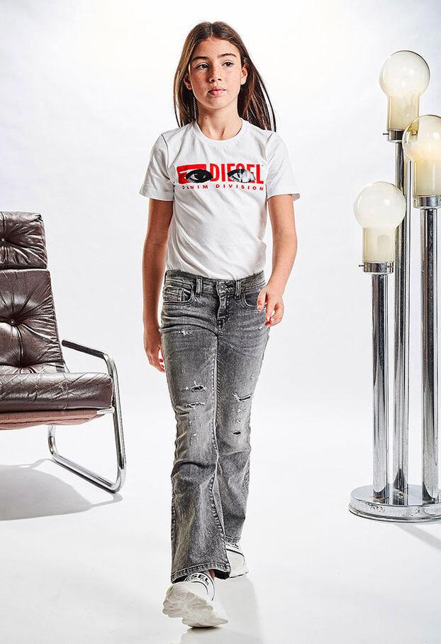 LOWLEEH-J-N, Nero/Grigio scuro - Jeans