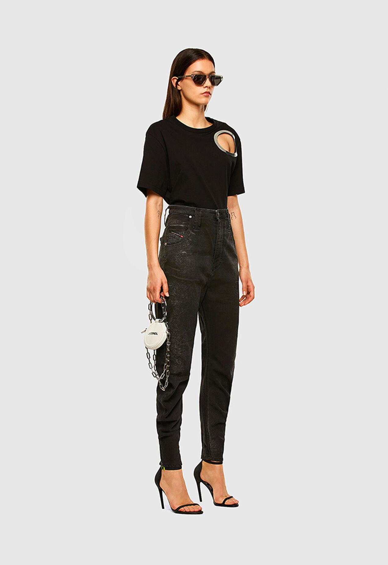 D-Plata JoggJeans 009DS, Nero/Grigio scuro - Jeans