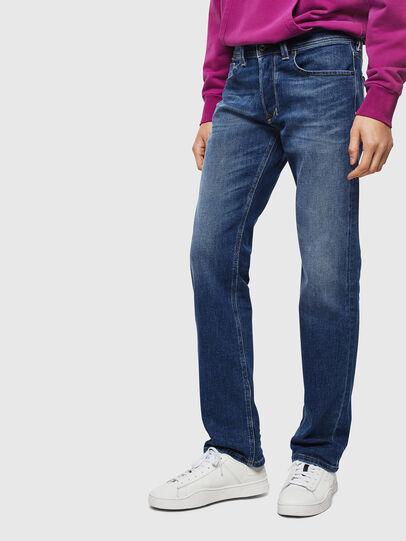 Diesel - Larkee 0096E, Blu medio - Jeans - Image 1