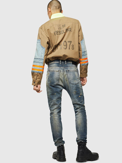 Diesel - D-Vider 0098S, Blu medio - Jeans - Image 6