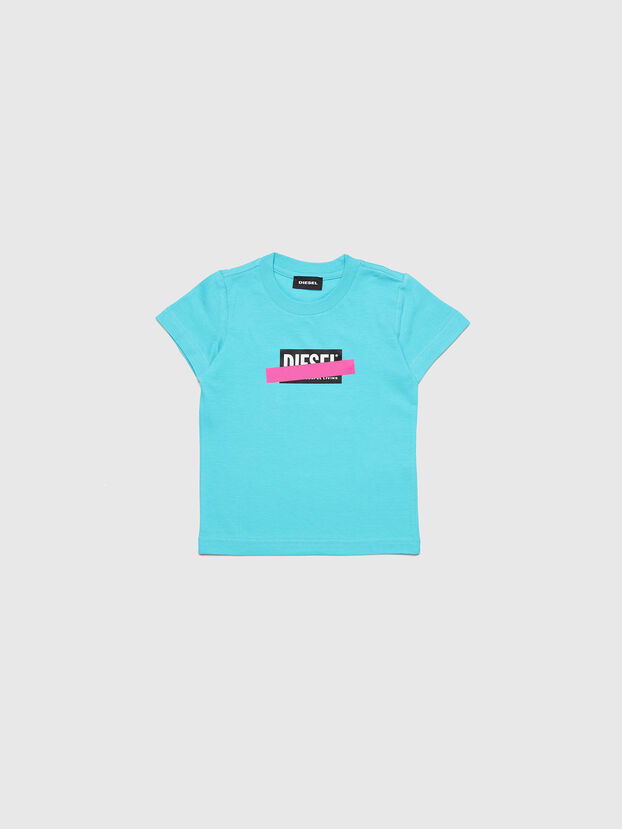 TJUSTDIXB-R, Azzurro - T-shirts e Tops