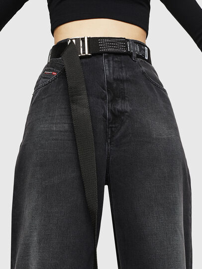Diesel - D-Luite 083AK, Nero/Grigio scuro - Jeans - Image 3