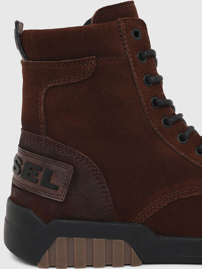 Diesel - H-RUA AM, Marrone - Sneakers - Image 5