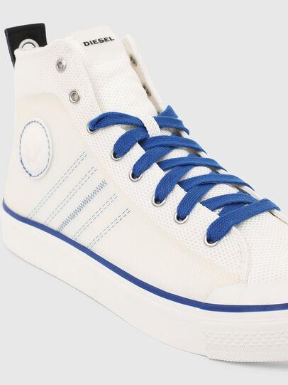 Diesel - S-ASTICO MC H, Bianco/Blu - Sneakers - Image 4