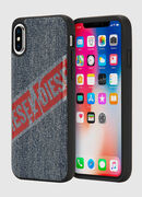 VINTAGE DENIM IPHONE X CASE, Blu Jeans - Cover