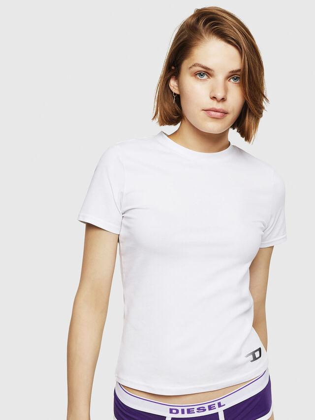 Diesel - UFTEE-ROUNDFEM, Bianco - T-Shirts - Image 1