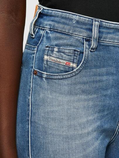 Diesel - Slandy High 009JI, Blu Chiaro - Jeans - Image 3