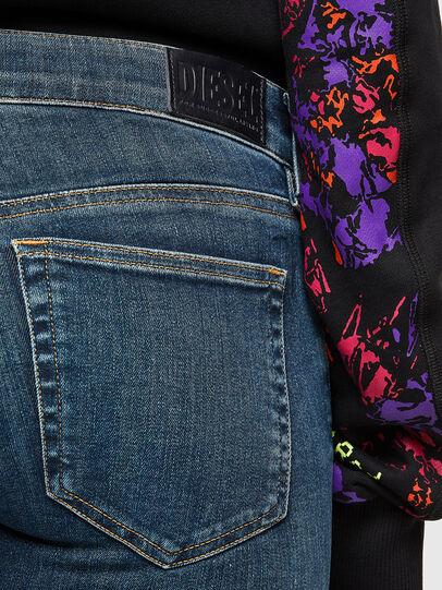 Diesel - Slandy Low 069TR, Blu Scuro - Jeans - Image 4