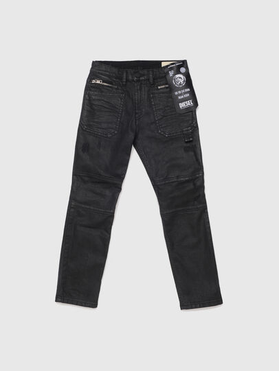 Diesel - D-PHORMER-J, Nero/Grigio scuro - Jeans - Image 1