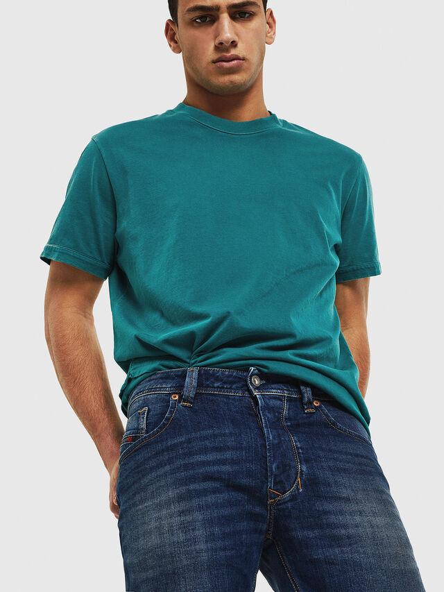 Diesel - Larkee 087AW, Blu Scuro - Jeans - Image 3